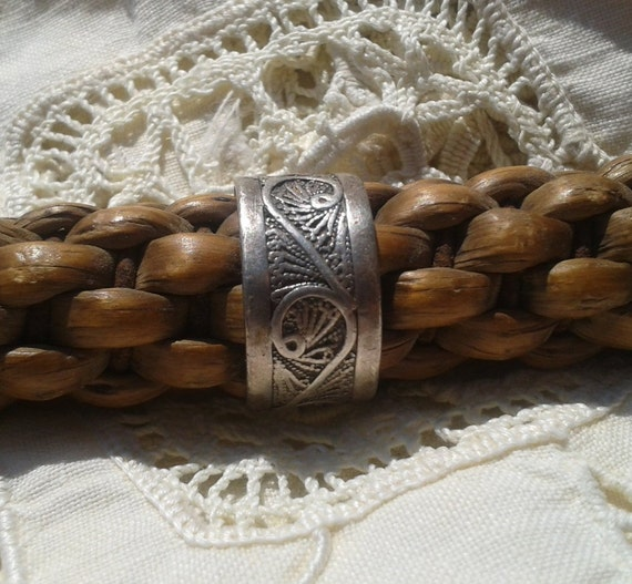 Filigree Ring  Sterling Silver Handmade Tribal Jewelry  Size 7 .1/8 #sophieladydeparis