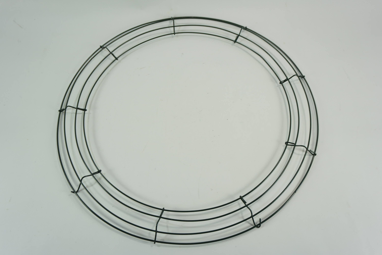 Round Metal WREATH RING, Wreath Form, 18\