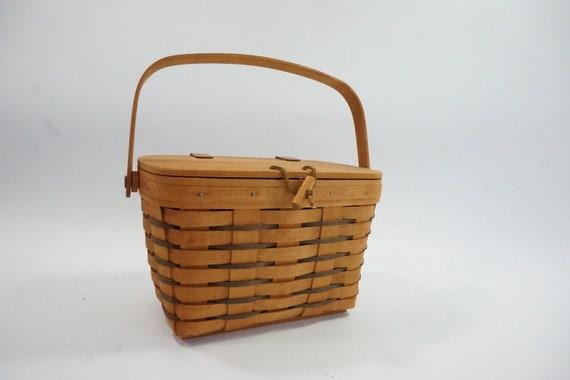 Longaberger Basket Purse, Small Purse, 1995 Ohio M