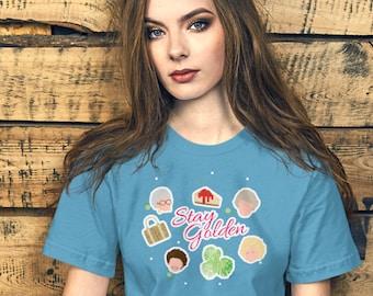 Stay Golden Short-Sleeve Unisex T-Shirt