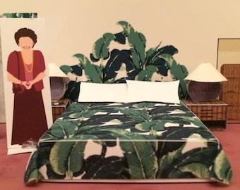 Blanche's Boudoir - DIY Papercraft Model