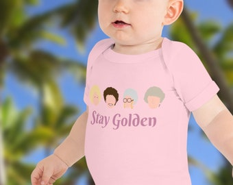 Stay Golden Adorable Baby Onesie