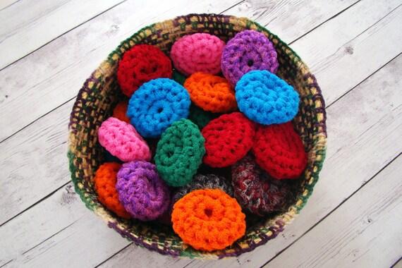 Scrubbies Crochet Scrubbie Pattern Dish Scrubber Pot Etsy
