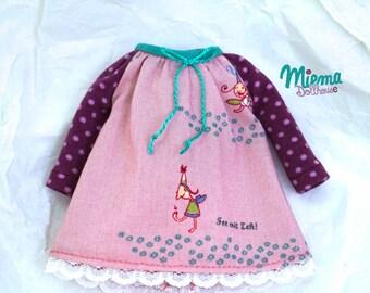 DRESS with fairy for Blythe by Miema Dollhouse