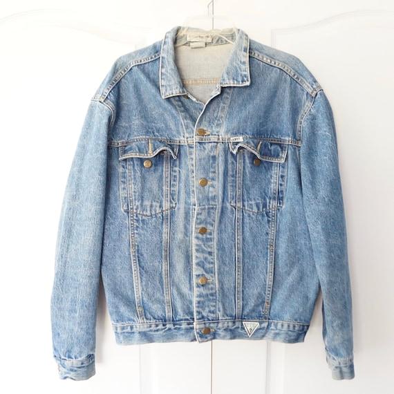 Vintage Denim Size extra large, xl, Denim Coat, We