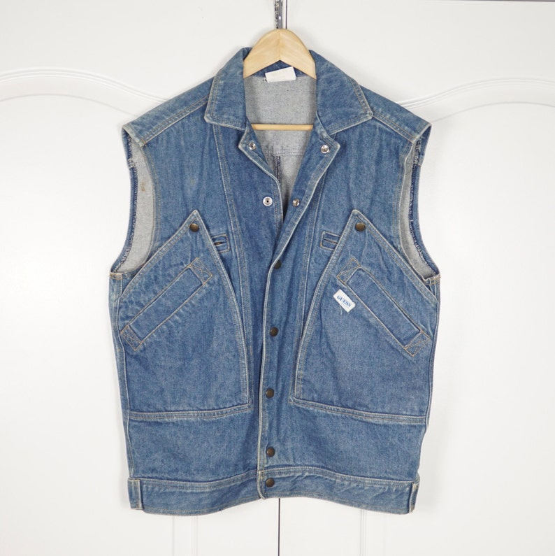 VTG 80's BTTF Marty Mcfly Guess Georges Marciano Acid Wash image 0