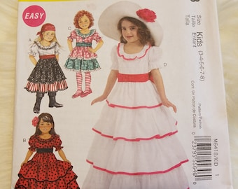 Costume d\'enfant Pioneer Holly Hobby Prairie couture patron ...
