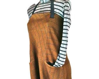 Salopanta #1 Salopette e pantalone, marrone  -  Salopanta #1 Salopette and trousers, brown