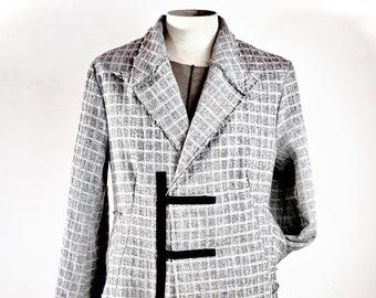 Cappotto Uomo Artista in lana  - Man Coat Artist in wool