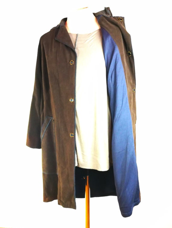 Cappotto Uomo Block Marrone Man Coat Block Brown