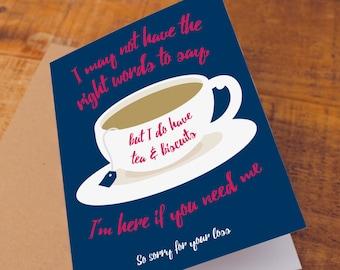sympathy card, bereavement card, condolences card, charity card, sympathy cards, with sympathy card, Blank card, Thinking of you card