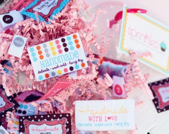Sprinkles Sew In Labels
