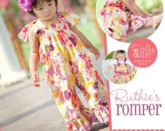 Ruthie's Romper Pattern- Dolly and Me