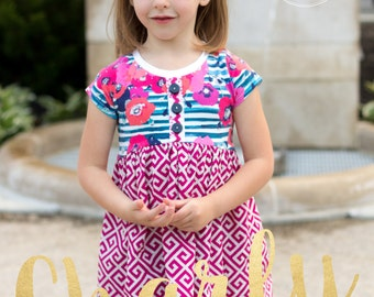 Charly Tunic PDF Pattern