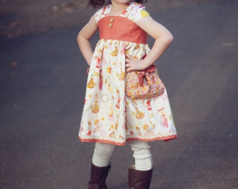 Emory Sundress, PDF dress sewing pattern