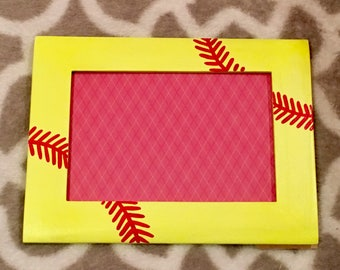 Softball Picture Frame