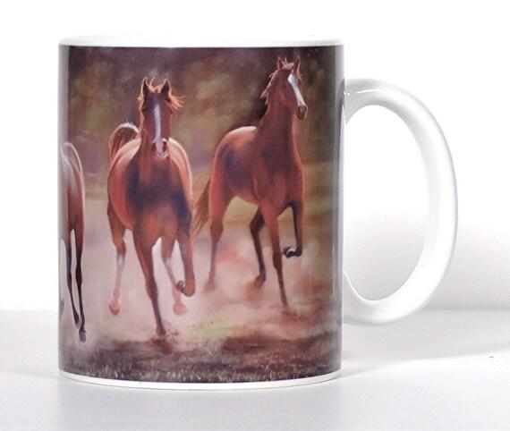 Horse Kitchen Decor: Items Similar To Horse Art Mug