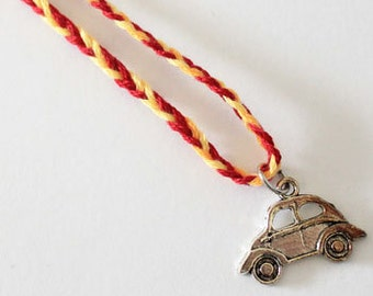 Once Upon A Time inspired Emma Swan charm bracelet - Car