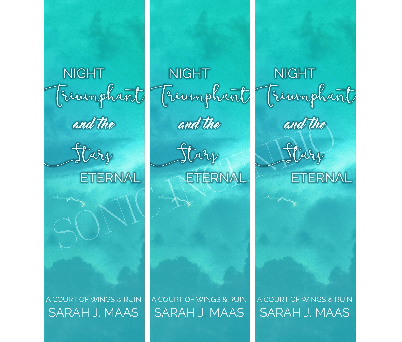 stars eternal digital bookmark printable bookmark books   etsy