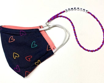 Kids Personalized Mask Chains