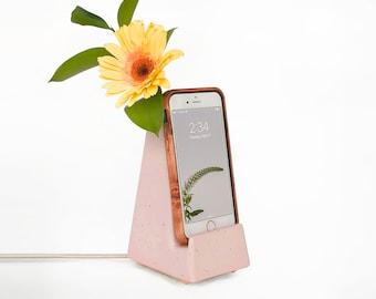 STAK Bloom Phone Vase, Pink