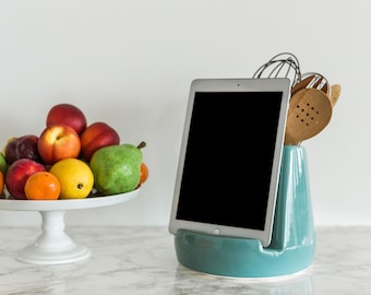 STAK Kitchen Tablet Dock, Teal