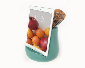 STAK Kitchen Tablet Dock, Teal