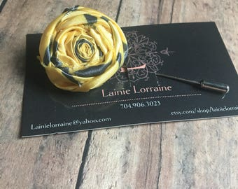 Lapel pin, men's lapel pin, lapel pin flower, lapel flower, mens gift, lapel