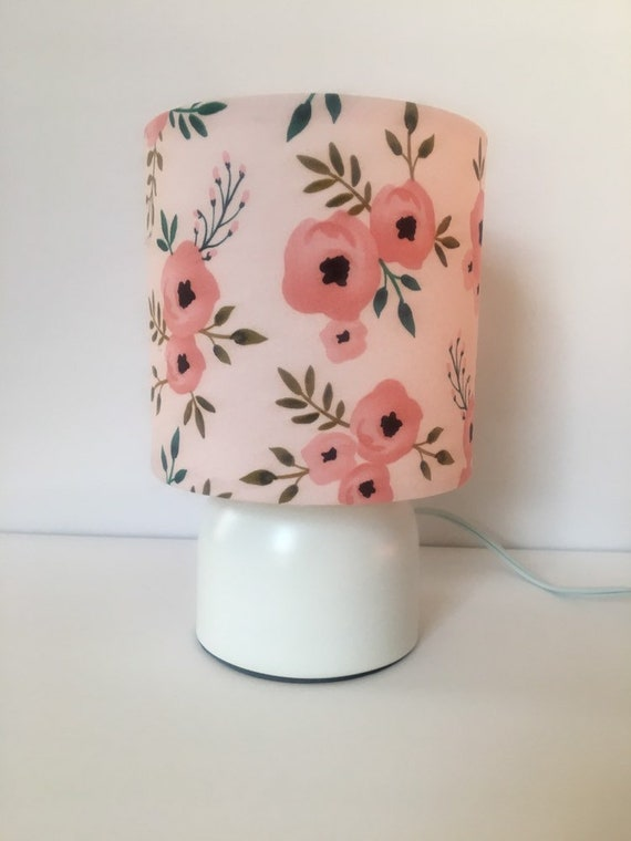 Childrens bedroom lamp, nursery, girls lamp, girls room decor