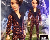 Monster Doll Haunt Couture Halloween quot Halloween Boy Suit quot fierce ever after high fashion outfit Hunter Spooky Pumpkins
