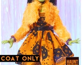 Monster Doll Haunt Couture quot Witching Hour Fur Coat quot high fashion doll clothes Casta Fierce Witch Halloween