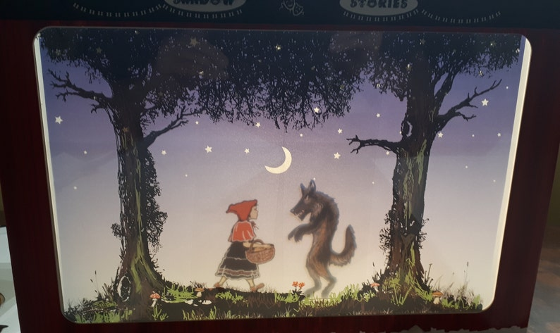 Tabletop Shadow Puppet Theatre with Little Red Riding Hood image 0