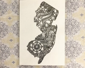 New Jersey print