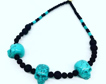 Tribal death beads