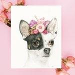 Portrait d'animal sur commande / commande personnalisée / aquarelle d'animaux / peinture originale / dessin animalier / fosterillustrations
