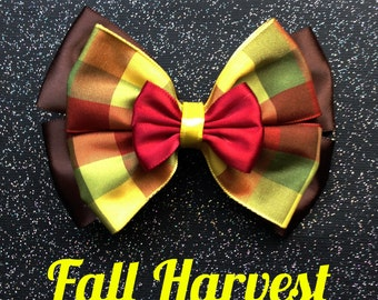 Fall Harvest Thanksgiving Bow