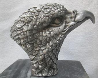american bald eagle head patriot car hood ornament