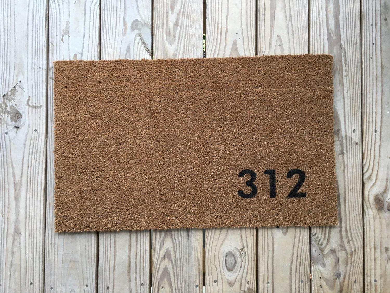Custom Address Doormat Unique Doormats Cute Welcome Mat