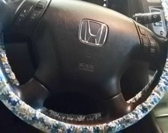 Daisy Steering Wheel Cover