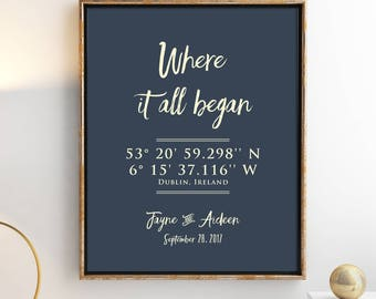 Wedding Gifts Personalized Gift For Boyfriend Enement Fiance Anniversary Girlfriend 8x10