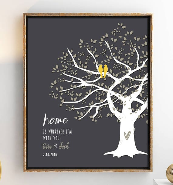 First 1st Paper Wedding Anniversary Gift For Wife Husband Etsy