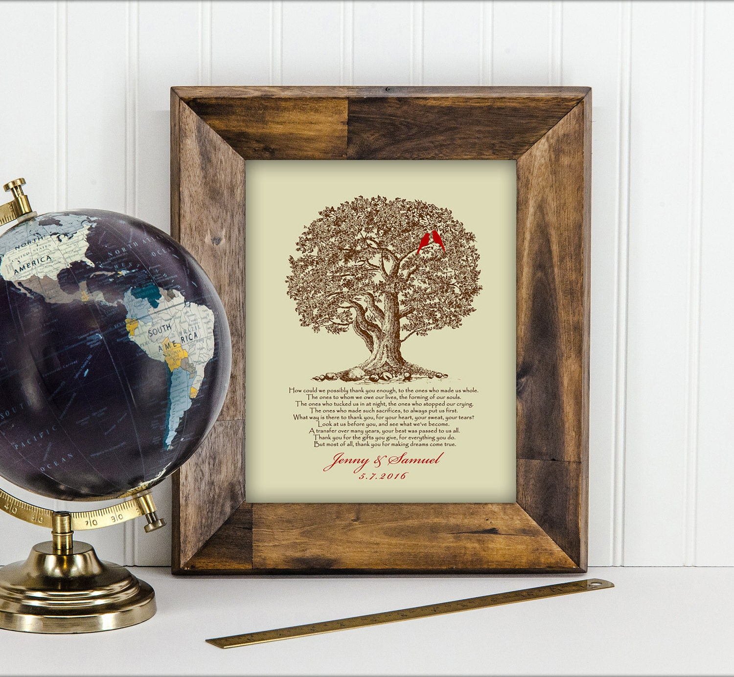 Wedding Gift From Parents: Wedding Gift For Parents From Bride And Groom Thank You