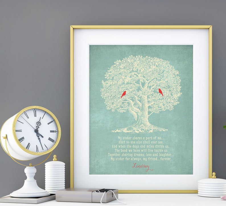Sister Gift  Personalized Gift for Sister  Wedding Gift for image 0