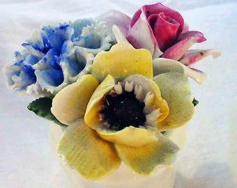 Vintage Royal Doulton Bone China Flowers