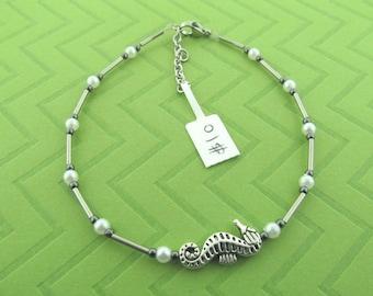 seahorse ankle bracelet anklet