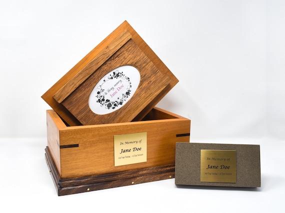 23. Medium Wood Urn