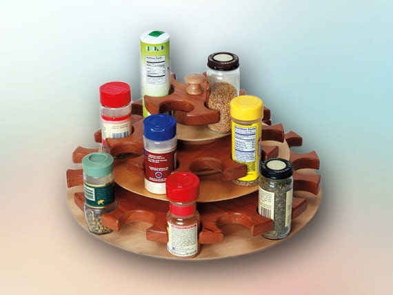 32 Station Rotating Spice Rack