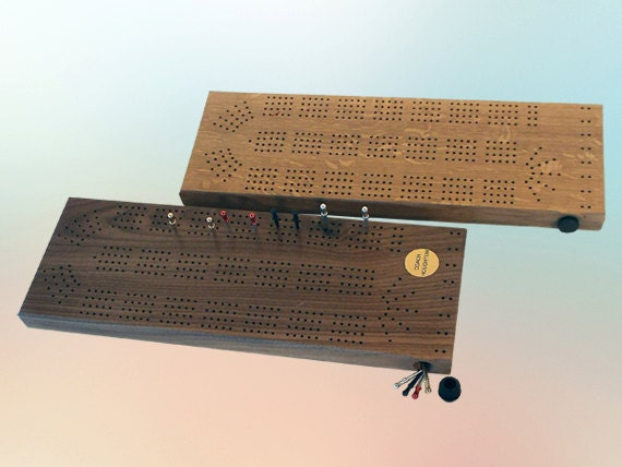 34. 4 Track Cribbage Board