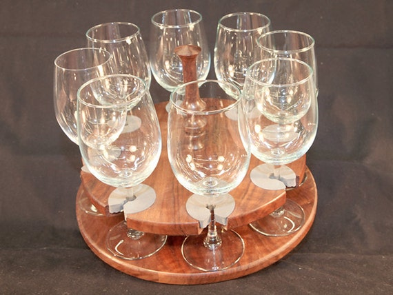 46 - Wine Glass Caddy (only) stemmed (8 station)
