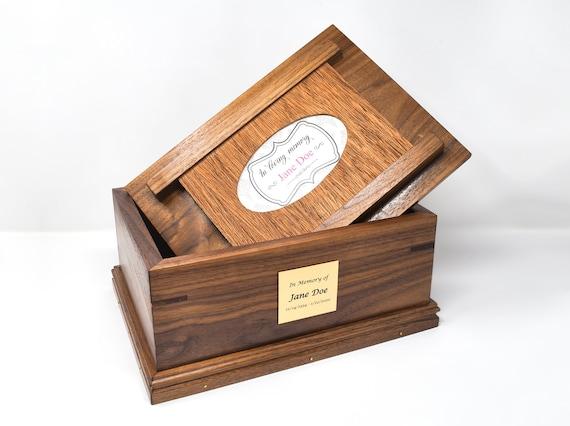 22. Large Wood Urn